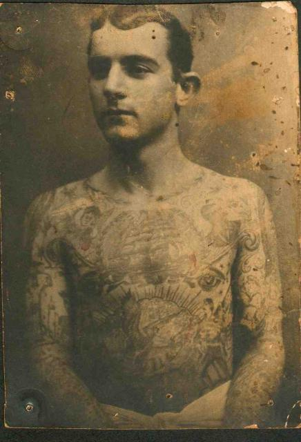 Tattooed Man - 1910s