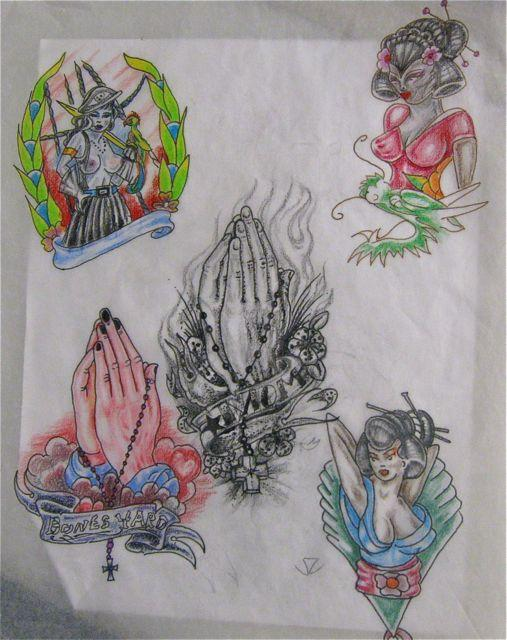 Praying Hands, others