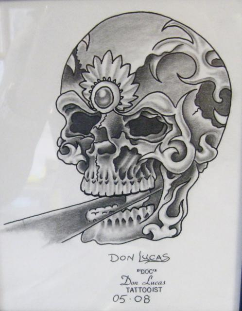 Skull with Jewels